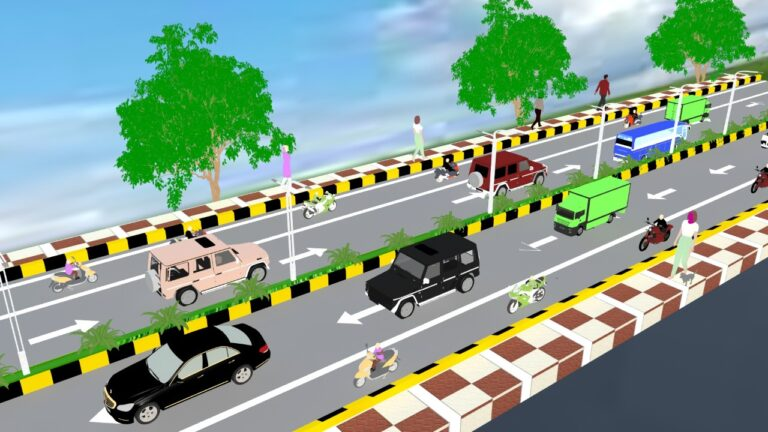 राष्ट्रीय महामार्ग व राज्य महामार्ग मधे मोटारसायकल  चालवण्या ची  वेगळी व्यवस्था असावी.