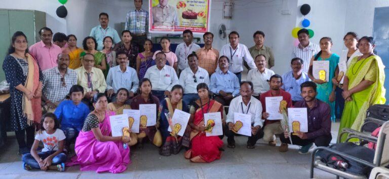 गट साधन केंद्र,पंचायत समिती,राजुरा कडून तालुक्यातील शैक्षणिक कार्यात उत्तम योगदान देणाऱ्या 10 शिक्षण प्रेमी/स्वयंसेवक यांचा सत्कार